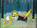 Animation Art:Production Cel, Donald in Mathmagic Land Donald Duck Production Cel (WaltDisney, 1959)....