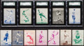 """Baseball Cards:Sets, 1934-36 R318 National Chicle """"Batter Up"""" Partial Set (49) With High Numbers. ..."""