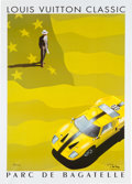 Transportation:Automobilia, 2002 Louis Vuitton Parc De Bagatelle Concours D'Elegance OriginalPoster By Razzia...