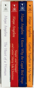 Books:Biography & Memoir, Maya Angelou. SIGNED. Autobiography Box Set. New York: Bantam, 1997. Trade editions. All four volumes signed. Octavos. Publi... (Total: 4 Items)