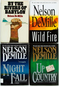 Books:Mystery & Detective Fiction, Nelson DeMille. Group of Four First Editions. Warner Books and HBJ,1978-2006. First editions. Publisher's bindings in dust ... (Total:4 Items)