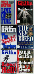 Books:Mystery & Detective Fiction, W.E.B. Griffin. SIGNED. Six First Editions. New York: Putnam, 1985.All first editions as W.E.B. Griffin. All but The Sabo...(Total: 6 Items)