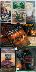 Books:Literature 1900-up, Bernard Cornwell. Group of Eight First Editions in the SharpeSeries. Harper Collins and Viking, 1981-2006. First editions. ...(Total: 8 Items)