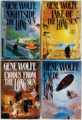 Books:Science Fiction & Fantasy, Gene Wolfe. The Book of the Long Sun Series. New York: Tom Doherty, [1993-1996]. First editions, first printings... (Total: 4 Items)
