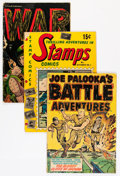 Golden Age (1938-1955):War, Comic Books - Assorted Golden Age War Comics Group (VariousPublishers, 1950s) Condition: Average FR/GD.... (Total: 20 ComicBooks)