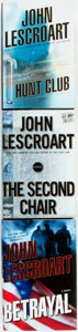 Books:Mystery & Detective Fiction, John Lescroart. Betrayal, The Hunt Club [and:] The SecondChair. New York: Dutton, [2008, 2006, 2004]. First... (Total: 3Items)