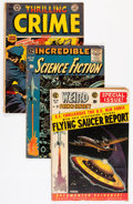 Golden Age (1938-1955):Miscellaneous, Comic Books - Assorted Golden Age Comics Group (Various Publishers, 1950s) Condition: Average VG.... (Total: 5 Comic Books)
