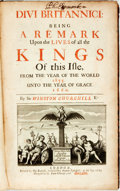 Books:World History, Sir Winston Churchill. Divi Britannici: Being a Remark Upon theLives of all the Kings of This Isle, from the Year of th...