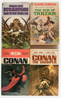 Bronze Age (1970-1979):Miscellaneous, Comic Books - Frank Frazetta-Related Paperbacks Group, plus Comics (Various Publishers, 1970s) Condition: Average FN/VF.... (Total: 13 Comic Books)