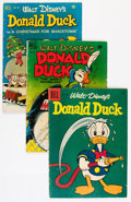 Golden Age (1938-1955):Cartoon Character, Disney Duck-Themed Group (Dell, 1950-61) Condition: AverageGD/VG.... (Total: 10 Comic Books)