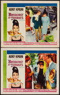 "Movie Posters:Romance, Breakfast at Tiffany's (Paramount, 1961). Lobby Cards (2) (11"" X14""). Romance.. ... (Total: 2 Items)"