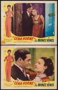 "Movie Posters:Black Films, The Bronze Venus (Toddy Pictures, R-1943). Lobby Cards (2) (11"" X14""). Black Films. Originally Released as: The Duke is T...(Total: 2 Items)"