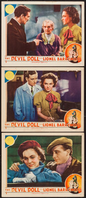 """The Devil Doll (MGM, 1936). Lobby Cards (3) (11"""" X 14""""). Horror. ... (Total: 3 Items)"""