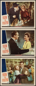"Movie Posters:Drama, Flesh and Fantasy (Universal, 1943). Lobby Cards (3) (11"" X 14""). Drama.. ... (Total: 3 Items)"