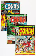 Bronze Age (1970-1979):Adventure, Conan the Barbarian Short Box Group (Marvel, 1973-87) Condition: Average VF/NM....