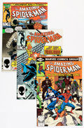 Modern Age (1980-Present):Superhero, The Amazing Spider-Man Short Box Group (Marvel, 1980-98) Condition:Average NM-....