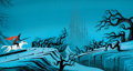 Animation Art:Concept Art, Eyvind Earle Sleeping Beauty Prince Phillip Concept Painting(Walt Disney, 1959)....