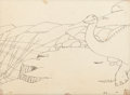 Animation Art:Production Drawing, Winsor McCay Gertie the Dinosaur Production Drawing #23(1914)....