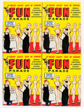 Magazines:Humor, Army and Navy Fun Parade Giant File Copy Long Box Group (FunParade, 1948) Condition: Average VF/NM....