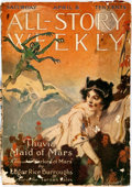 Books:Science Fiction & Fantasy, [Pulps, Edgar Rice Burroughs] All-Story Weekly, Vol. LVI, No. 4. April 8, 1916. Featuring the first appearance o...
