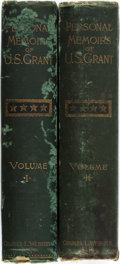 Books:Biography & Memoir, Ulysses S. Grant. Personal Memoirs of U.S. Grant. New York:Charles L. Webster, 1885. First edition. Two thick o... (Total: 2Items)