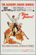 "Movie Posters:Academy Award Winners, Tom Jones (United Artists, 1963). One Sheet (27"" X 41"") Style A & Lobby Card Set of 8 (11"" X 14""). Academy Award Winners.. ... (Total: 9 Item)"