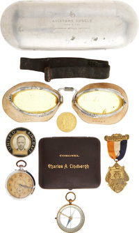 Charles A. Lindbergh: An Amazing Collection of Items Formerly Owned by the Aviation Pioneer