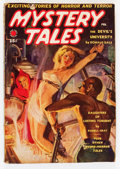 Pulps:Horror, Mystery Tales - February '39 (Red Circle, 1939) Condition: VG+....