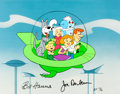 "Animation Art:Model Sheet, The Jetsons ""Sunday Drive"" Limited Edition Cel AP13/30 (Hanna-Barbera, 1989)...."