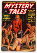 Pulps:Horror, Mystery Tales - September '39 (Red Circle, 1939) Condition: VG-....