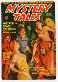 Pulps:Horror, Mystery Tales - March '40 (Red Circle, 1940) Condition: VG....