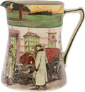 "Transportation:Automobilia, Royal Doulton ""The Motorists"" Series Pitcher..."