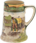 "Transportation:Automobilia, Royal Doulton ""The Motorists"" Series 5.75"" Dinner Mug Or Tankard..."