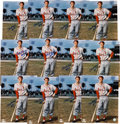 Autographs:Photos, Circa 2000 Stan Musial Single Signed Oversized Photographs Lot of12....