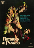 "Movie Posters:Film Noir, Out of the Past (C.I.R.E Films, R-1950s). Spanish One Sheet (27"" X 38"").. ..."