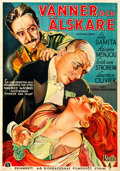 "Movie Posters:Romance, Friends and Lovers (RKO, 1931). Swedish One Sheet (27.5"" X 39.5"")....."