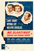 "Movie Posters:Comedy, Mr. Blandings Builds His Dream House (RKO, 1948). One Sheet (27"" X41"").. ..."
