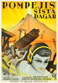 "Movie Posters:Adventure, The Last Days of Pompeii (RKO, 1935). Swedish One Sheet (27.5"" X39.5"").. ..."