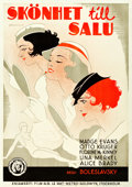 "Movie Posters:Drama, Beauty for Sale (MGM, 1933). Swedish One Sheet (27.5"" X 39.5"")....."