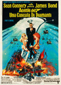 "Movie Posters:James Bond, Diamonds are Forever (United Artists, 1971). Italian 2 - Foglio(39.5"" X 55"").. ..."