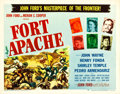 """Movie Posters:Western, Fort Apache (RKO, 1948). Half Sheet (22"""" X 28"""") Style A. Western.. ..."""