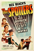 "Movie Posters:Western, The Spoilers (Universal, 1942). One Sheet (27.25"" X 40.75"").. ..."