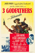 """Movie Posters:Western, 3 Godfathers (MGM, 1948). One Sheet (27.25"""" X 41"""").. ..."""