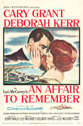 """Movie Posters:Romance, An Affair to Remember (20th Century Fox, 1957). One Sheet (27"""" X 41.5"""").. ..."""