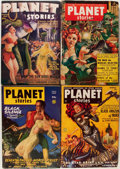 Pulps:Science Fiction, Planet Stories Box Lot (Fiction House, 1943-54) Condition: AverageVG....