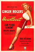 "Movie Posters:Romance, Heartbeat (RKO, 1946). One Sheet (27.5"" X 41"").. ..."