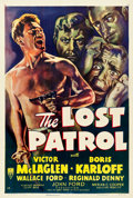 "Movie Posters:War, The Lost Patrol (RKO, R-1949). One Sheet (27.25"" X 40.75"").. ..."