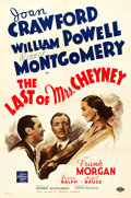 "Movie Posters:Crime, The Last of Mrs. Cheyney (MGM, 1937). One Sheet (27.5"" X 41"") StyleC.. ..."