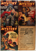 Pulps:Horror, Dime Mystery Magazine Group (Popular, 1936-47) Condition: Average VG-.... (Total: 13 Items)