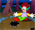 Animation Art:Production Cel, The Simpsons Krusty the Clown Production Cel (Fox, 1992)....